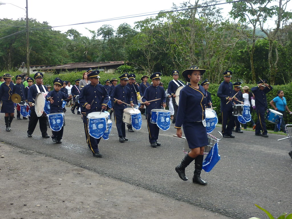 Parade in El Valle