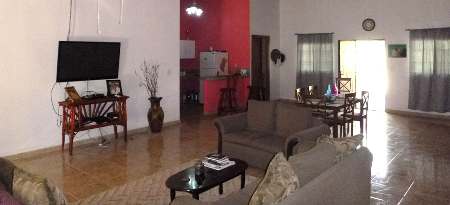 Spaceous home in El Higo – close to the Pacific beaches